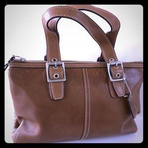 Coach 9545 Legacy Zip Satchel Bag